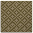 rug #173825 | square mid-brown check rug