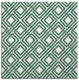 rug #173837 | square blue-green check rug