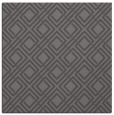 rug #173853 | square mid-brown check rug