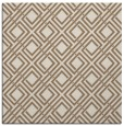 rug #173857 | square mid-brown check rug