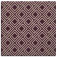 rug #173861 | square pink check rug
