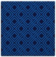 rug #173873 | square blue check rug