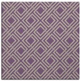 rug #173885 | square purple check rug