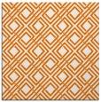 rug #173897 | square orange geometry rug