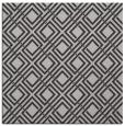 rug #173905 | square orange check rug