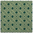 rug #173909 | square yellow check rug