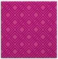 rug #173913 | square pink check rug