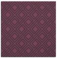 rug #173929 | square purple check rug