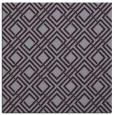 rug #173941 | square purple check rug