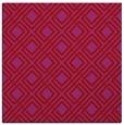 rug #173957 | square pink check rug