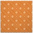 rug #173965   square red-orange check rug