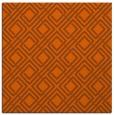 rug #173969 | square red-orange check rug