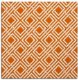 rug #173973 | square red-orange check rug