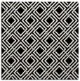 rug #173977 | square black retro rug
