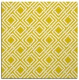 rug #173981 | square white retro rug