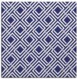 rug #173985   square blue check rug