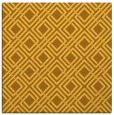 rug #174009 | square yellow check rug