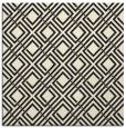 rug #174013 | square black retro rug