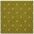rug #174025 | square light-green check rug