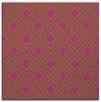 rug #174033 | square pink check rug