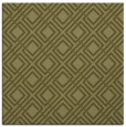 rug #174037 | square light-green check rug