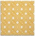 rug #174041 | square light-orange check rug