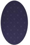 rug #174143 | oval geometry rug