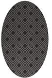 rug #174208   oval check rug