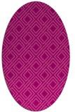 rug #174266 | oval geometry rug