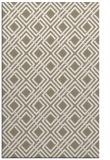 rug #174409 |  beige check rug