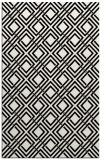 rug #174413 |  black check rug