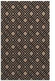 rug #174421 |  beige check rug