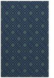 rug #174441 |  blue check rug
