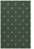 rug #174445 |  blue check rug