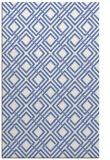 rug #174449 |  blue check rug