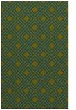 rug #174469    green retro rug