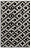 rug #174485 |  blue-green check rug