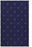 rug #174493 |  blue-violet check rug
