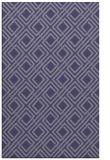 rug #174497 |  blue-violet check rug