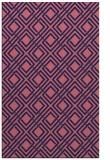 rug #174501 |  pink check rug