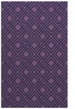 rug #174505 |  purple check rug