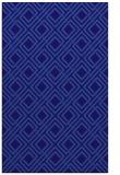 rug #174513 |  blue-violet check rug