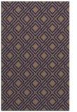 rug #174517 |  blue-violet check rug