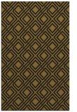 rug #174525 |  mid-brown check rug