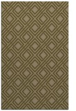 rug #174529 |  mid-brown check rug