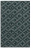 rug #174537 |  green check rug