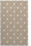 rug #174561 |  mid-brown check rug