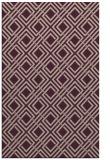rug #174565 |  pink check rug