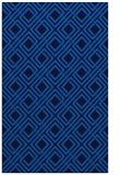 rug #174577 |  blue check rug