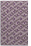 rug #174589 |  purple check rug